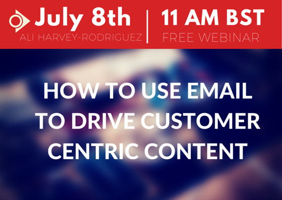 SEMrush: How to use email to drive customer centric content image 1
