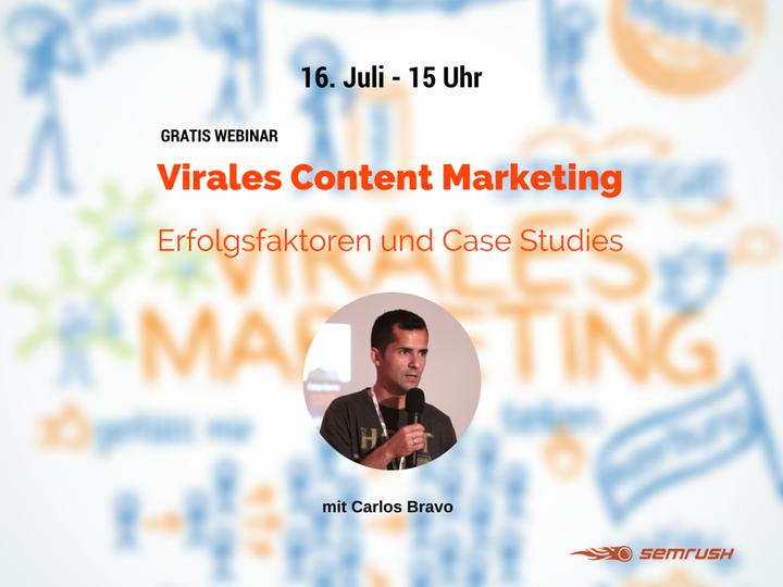 SEMrush: Virales Content Marketing - Erfolgsfaktoren und Case Studies bild 1