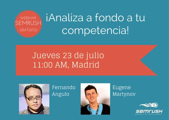 SEMrush: ¡Analiza a fondo a tu competencia! imagen 1