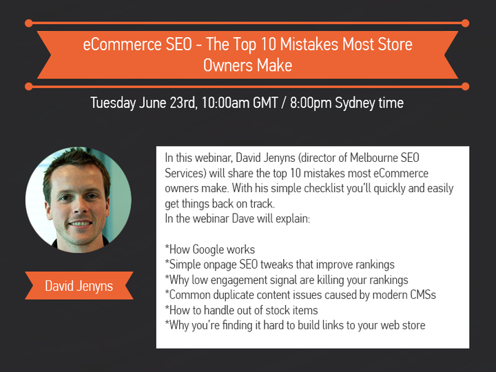 SEMrush: eCommerce SEO - The Top 10 Mistakes Most Store Owners Make image 1