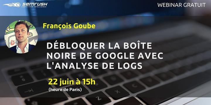 Webinar Francois Analyse de logs