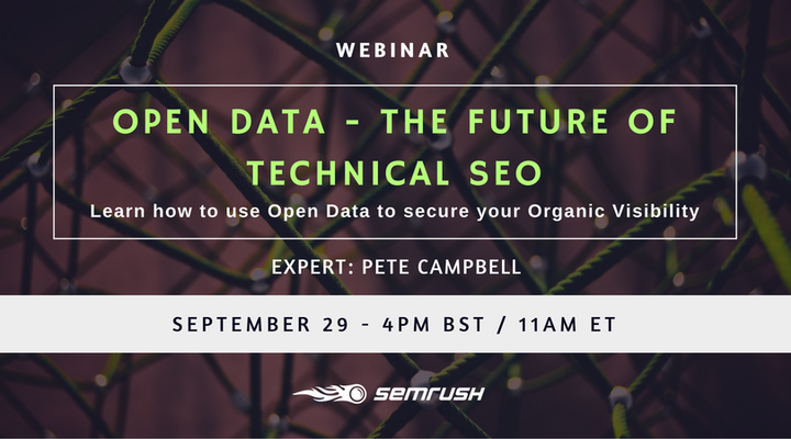 Open Data - The Future of Technical SEO