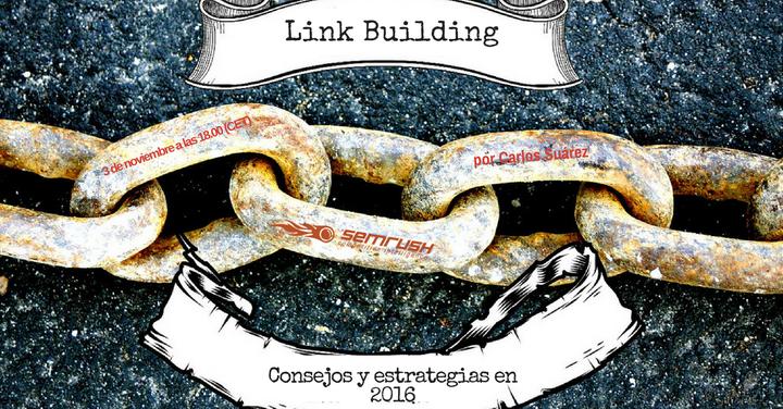 Link Building: consejos y estrategias en 2016